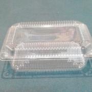 Пластиковая упаковка квадратная фото