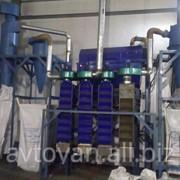 Сепарационная система для переработки шин. фото