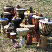 Аренда африканского барабана джембе (опт) фото