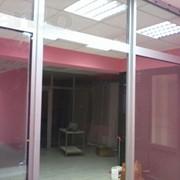 Изготовление алюминиевых дверей и витражей фото