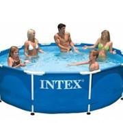 Каркасный круглый бассейн Intex, 305х76 см 28202 (56999) фото