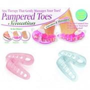 Массажер для пальцев ног Pampered Toes Sensation 6 штук фото