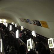 Реклама в метро: Метролайты Киев фото