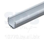 Алюминиевый анодированный профиль круглый накладной/подвесной фото