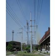 Монтаж высоковольтных кабельных сетей Участок ВЛ-150кВ фото
