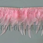 Перо-юбка розовая 8-13см/48-50см 570433 фото