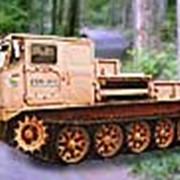Специальная гусеничная машина СХМ-59Г бортовая повышенной проходимости для работы с навесным и прицепным оборудованием в сельском хозяйстве.Базовая машина АТС-59Г фото