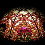 Художественное изготовление витражей купол фото