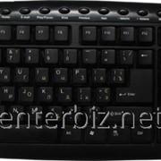 Клавиатура 8108 Multimedia Black Waterproof PS/2 (CG8108PS2/B), код 34189 фото