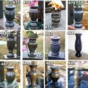 Вазы из гранита, вазы из мрамора, купить вазы из мрамора фото