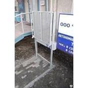 Подъемник ПТУ-001 поворотным ограждением для инвалидов фото