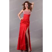 Шикарное красное вечернее выпускное платье Grace Karin фото