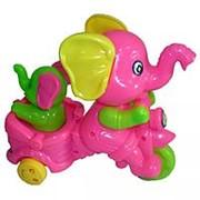 Заводная игрушка Слон со слоненком 0825 фото