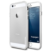 Бампер SGP Neo Hybrid EX для iPhone 6/6s Satin Silver (SGP11026) фото