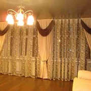 Пошив штор, гардин, ламбрекенов фото