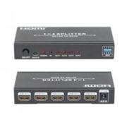 Конвертер HDMI 1.4 Splitter 1x4 WITH EDID 1080P 3D фото