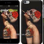 Чехол на iPhone 6 Девушка в маске черепа 853c-45 фото