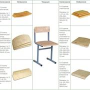 Сиденья и спинки для ученических и аудиторных стульев фото