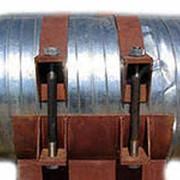 Скользящая опора для трубопровода в пенополиуретановой изоляции фото
