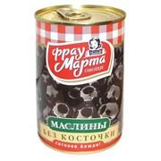 Маслины без косточки Фрау Марта ж/б 300гр*12 фото