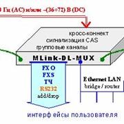 Модуль мультиплексирования и кроссконнекта MLink-DL-MUX фото