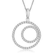 Кулон прекрасный с бриллиантами I1/G 0,70Ct фото