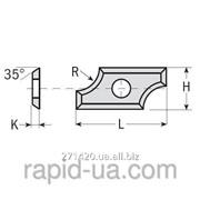 Профилированные радиусные ножи 19,5×9×1,5 R3 ммCMT 790.030.00 фото
