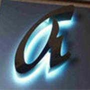 Изготовление объемных букв в Алматы фото