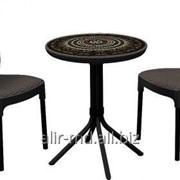 Комплект мебели из пластика CHELSEA SET фото