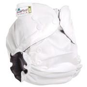 Многоразовый подгузник GlorYes! OPTIMA NEW Белый 3-18 кг + два вкладыша фото
