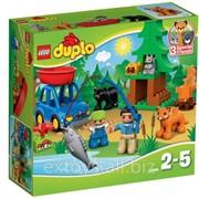 10583. Лего Дупло Рыбалка в лесу фото