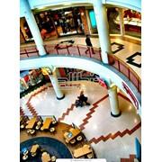 Разметка торговых центров фото