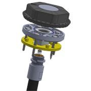 Беспроводной датчик контроля уровня топлива и качества вождения автотехники фото