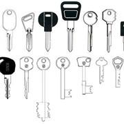 Изготовление ключей любой сложности фото