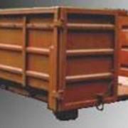 Контейнер 14 куб. м для перевозки бытовых отходов спецавтомобилями.Вторсырье.Отходы.Вторичная тара и упаковка Бумага.Макулатура.Твердые бытовые отходы фото