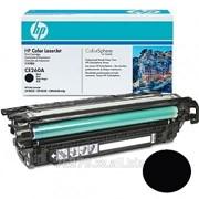 Картридж HP CE260A для Color LJ 4025 black Original фото