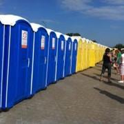 Аренда туалетных кабинок фото