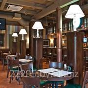 Мебель для баров,кафе и ресторанов из массива фото