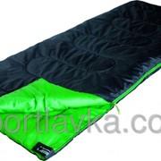 Спальный мешок High Peak Patrol / +7°C Left Black/green 922676 фото