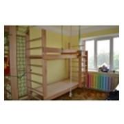 Шведские стенки-кровати, детское спортивное оборудование фото