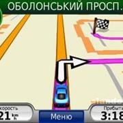 Установка GPS карт фото