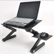 Столик для ноутбука с USB-охлаждением и подставкой для мышки Т8 фото