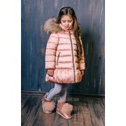 Пальто розовое 3С-817 GNK фото