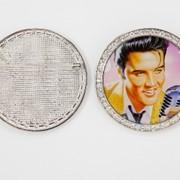 Брошка Элвис Пресли, купить, оптом и в розницу фото