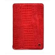 Чехол-обложка Smart Cover красный крокодил с крышкой для Apple iPad Mini фото