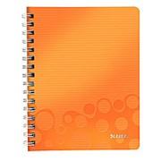 Блокнот Leitz Wow, А5, Полипропилен, Клетка, Оранжевый фото
