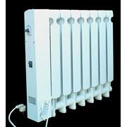 Радиаторы отопления с блоком управления температурой на поверхности радиатора фото