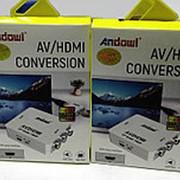 Переходник с HDMI на AV фото