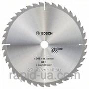 Пила дисковая по дереву Bosch 254x30x96z Multi ECO фото