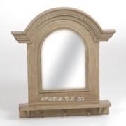 Зеркало с крючками Глаз быка фото
